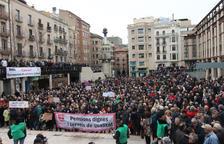 El cost de les pensions a Lleida s'ha disparat un 83 per cent des del 2005