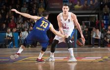 El Barça planta cara a un CSKA de Moscou intractable liderat per De Colo
