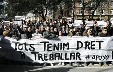 Els VTC amenacen de tramitar ja un miler d'acomiadaments a Catalunya