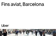 Uber i Cabify deixen aquest divendres Barcelona