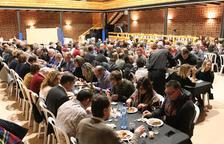 Castellnou celebra Sant Blai con una cena