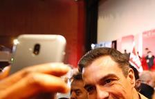 Sánchez crida a votar el 26-M per evitar tornar a l'Espanya del franquisme