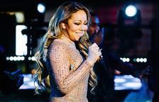 Mariah Carey, a Pedralbes en el seu únic concert a Espanya