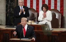 Donald Trump presumeix d'economia i diu que ell farà el mur amb Mèxic