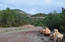 Knauf ha extraído 15.000 toneladas de yeso en Ribera d'Urgellet en tres años