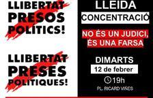 Criden a manifestar-se a Lleida en 'defensa dels drets i llibertats'
