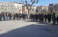 Concentración en motivo del juicio del 1-O en Balaguer
