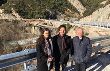 Proyecto para una pasarela peatonal en el puente de Peramola