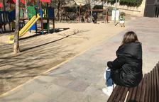 La veïna de Lleida no pot anar a espais tancats.