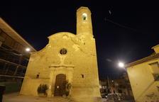 Cerrada la iglesia de Alpicat por el peligro de desplome de su tejado