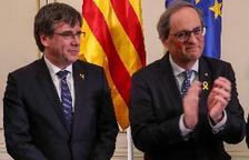 Puigdemont y Torra llaman al Parlamento Europeo
