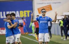El Lleida guanya el primer partit de l'any en el debut de Joan Carles Oliva al Camp d'Esports