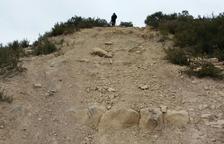 Denuncian el paso de motos de trial en dos áreas protegidas de la comarca