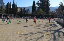Trobada comarcal de miniatletismo en La Pobla