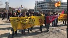 Manifestació pels carrers de Tàrrega