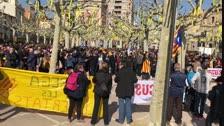 Més de 2.000 persones es manifesten a Tàrrega