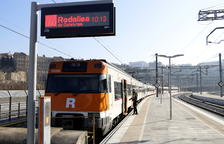 El tren de la Pobla, amb un 16% més de passatgers el primer trimestre