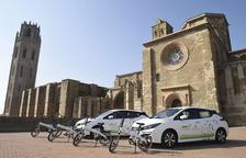 La Paeria incorpora 6 vehicles elèctrics al seu parc mòbil