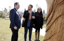 Almacelles estrena un parc escultòric a l'aire lliure amb dotze peces