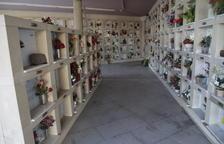 El cementiri de Lleida, gairebé sense nínxols disponibles per allotjar les urnes de difunts incinerats
