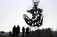 Almacelles obre el parc escultòric amb dotze peces