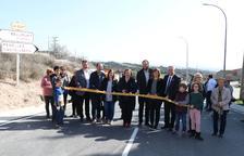 Mejora de la carretera entre Bellmunt, Penelles y Castellserà