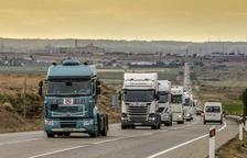 El Parlament insta el Govern a negociar amb l'Estat l'ampliació de la prohibició de camions a l'N-240
