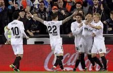 El València es retroba amb la victòria davant d'un inofensiu Athletic