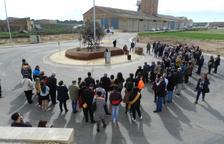 Almenar inaugura una rotonda dedicada al món de la pagesia