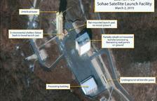 Pyongyang reconstrueix una base de míssils tancada l'any passat