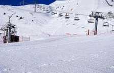 Les pistes de Boí Taüll, a l'Alta Ribagorça, després de la nevada d'aquesta setmana.
