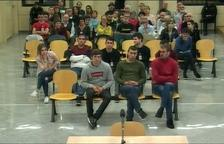 Mantenen les penes per als vuit joves d'Altsasu