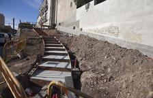 Anglesola mejora y ajardina el principal acceso al municipio