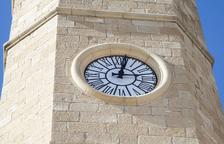 Preixana arregla y moderniza el reloj del campanario