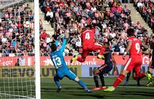 Un gol al temps afegit condemna el Girona a una nova derrota a Montilivi