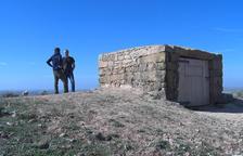 El Projecte Oenatge converteix una cabana de Castellserà en un observatori