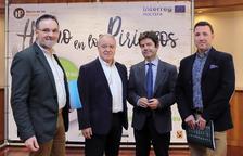 Un momento de la presentación del II Congreso del Producto y la Gastronomía de los Pirineos.