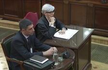 Josep Lluís Trapero, este jueves como testigo en el Supremo.