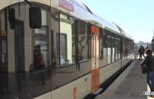 Tall de servei a la línia de tren Lleida-La Pobla per manteniment