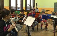 REPORTATGE. L'Escola de Música de Bellpuig compleix 35 anys.