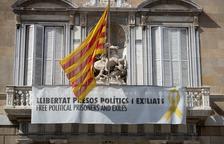 La façana del Palau de la Generalitat.