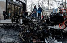 Els Armilles Grogues deixen 170 milions en danys a París