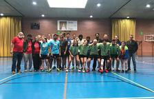 La UdL guanya l'or en dobles femenins de bàdminton