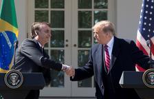 Trump i Bolsonaro formen una aliança populista i un eix contra el socialisme
