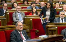 Torra ordena la retirada dels llaços grocs i les estelades dels edificis de la Generalitat