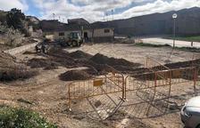 Sant Guim de la Plana remodela la plaza de acceso a la población