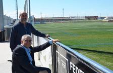 Torrefarrera fa un homenatge als exportistes Antoni Palau i Manel Bosch