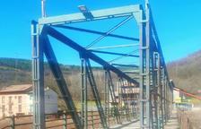 Vilaller millora el pont que creua la Noguera Ribagorçana