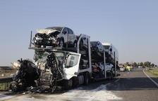 Conmoción en Fraga por el trágico accidente en la A-2