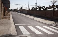 Más obras en la avenida de l'Esport de Castellserà